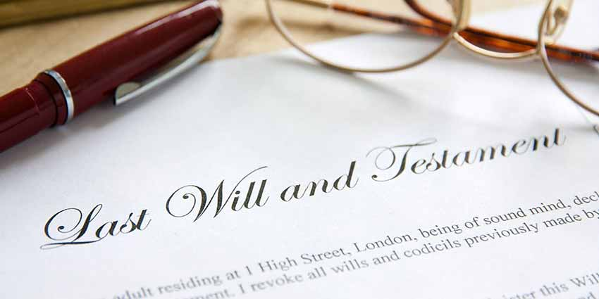 Probate Proerty - Molae Proerties - picture of a Will