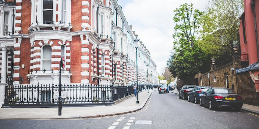 London Property Market - picture of a London Street - Molae Properties
